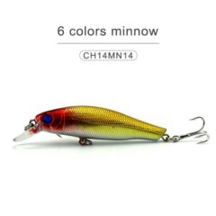 short lip minnow lures