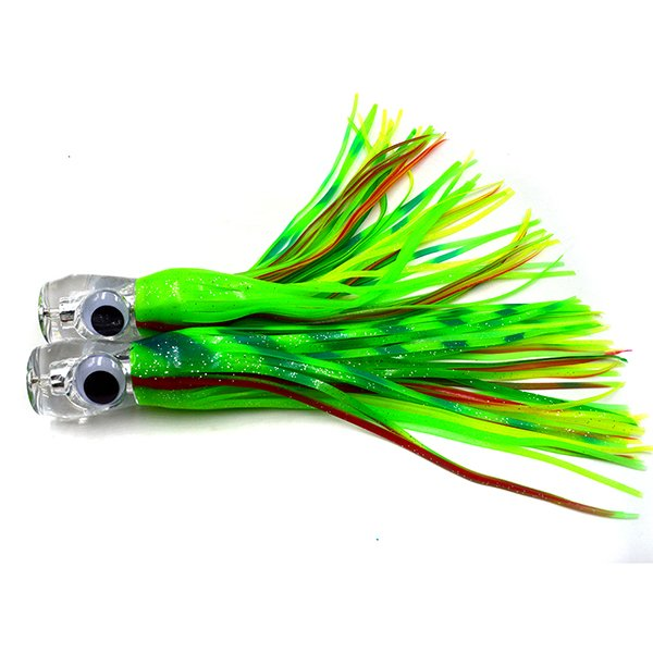 Acrylic head trolling lure choct1 from amazon kmucutie for Amazon fishing spinners