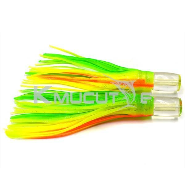 You are currently viewing Resin head trolling skirts lures Marlin lure Tuna Wahoo lure Unrigged game lure