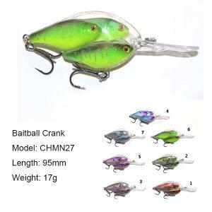 Baitball fish group wholesale discount-Crankbait&Minnow bait&Popper fishing lures