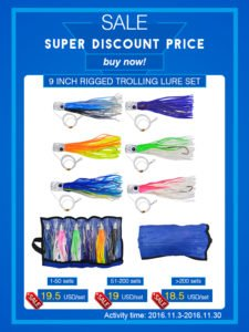 Read more about the article Marlin lure set&trolling lures package wholesale in discount price