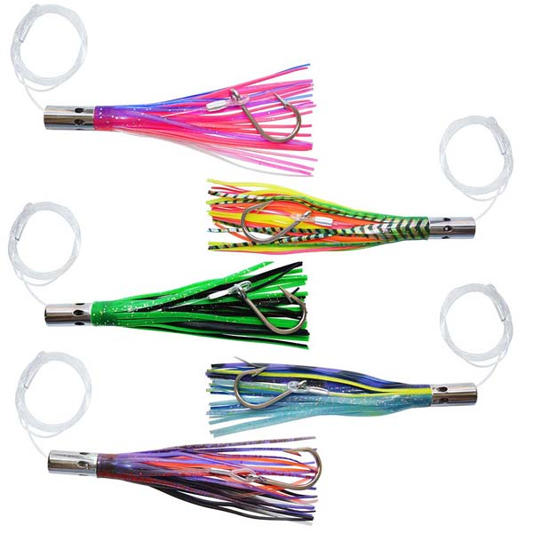 "7"" 8"" copper head skirts trolling lures wholesale for quick delivery"