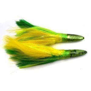 Feather flasher trolling lures CHOCT27