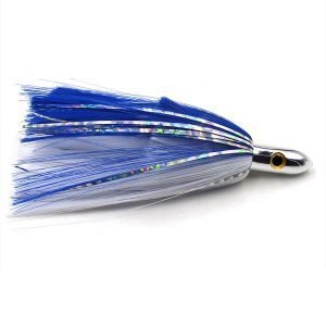 """Double nylon skirts bullet head trolling lure 9"""" CHOCT22"""
