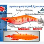 Popular style squid jigs, if you are interested in purchasing squid jigs, please do not miss it!