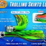 "Octopus skirts 11"" trolling skirts lure"