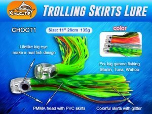 """Read more about the article Octopus skirts 11"""" trolling skirts lure"""