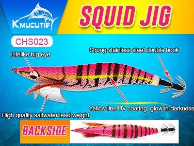 UV coating squid jig