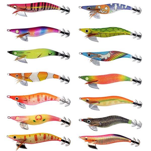 kmucutie squid jig color chart