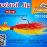 bucktail jig wholesale 1oz