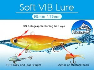 95mm TPR Soft VIB Lure For Quick Delivery