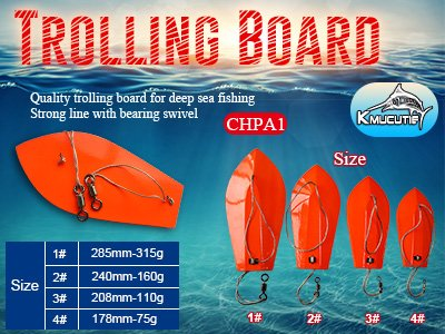 Trolling board fishing lure wholesale