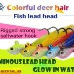 Kmucutie-OEM fishing lure wholesaler, Bucktail jigs and Acrylic Head Octopus Trolling Skirts Lure