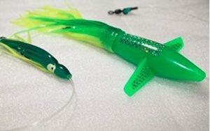 Turbo Teaser Bird Green Saltwater Fishing Lure for Tuna Mahi Wahoo Marlin wholesale