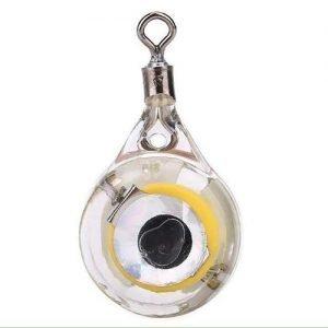 Deep Drop LED Fishing Light,Fishing Lures Bait Light Fish Flash Light Lamp Underwater Luminous Lures Bait Fishing Tackle
