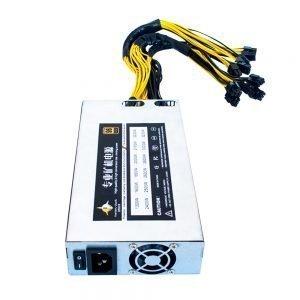 Single 1U power supply 1800W/2000W/2200W PFC function mining machine power supply