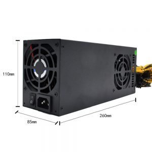 2800W initiative PFC machine Mining Power Supply for S9 S11 L3+ D3 R4 A7 E9 mining machines