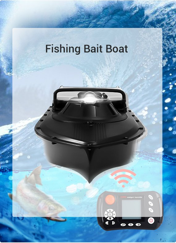 Fishing Bait Boat