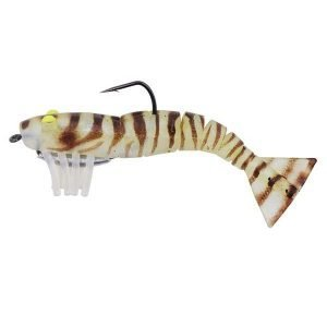 TPR soft live shrimp fishing lure Easy to attract fish