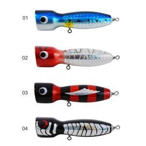 The Kmucutie CHWGT6  Reflective Wooden Fishing lure eyes Vivid color, various can be choosen