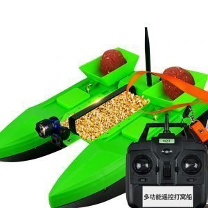 Kmucutie Fishing Bait Boat RC Fish Lure Boat 500m Wireless Bait Casting Yacht Fish Finder Boat