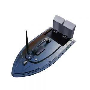 Kmucutie Fishing Bait RC Boat, Fish Finder 1.5kg Loading 500m Remote Control Fishing Bait Boat